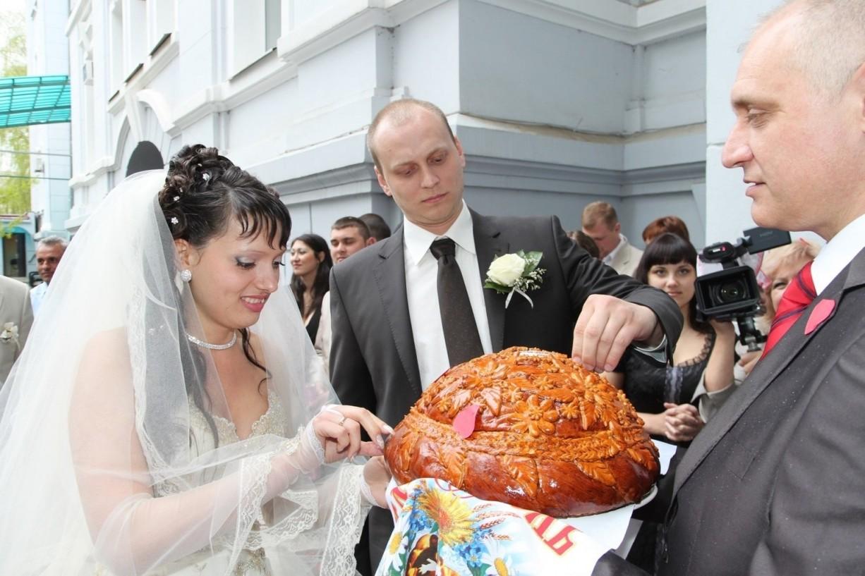 Поздравления на свадьбу от родителей встреча с караваем