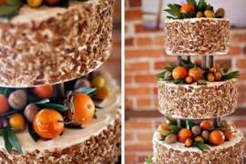 Зимние свадебные торты: ягодный вкус любви!
