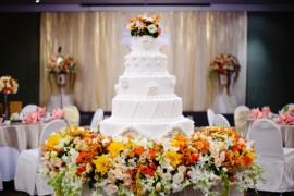 Свадебные торты: подборка фото