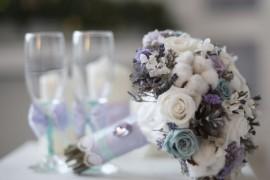 Зимний свадебный букет - какой он?