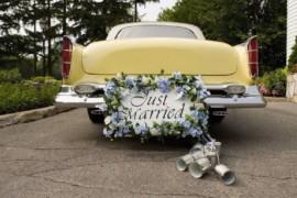 Как украсить машину (лимузин) на свадьбу