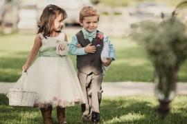 Дети на свадебном торжестве
