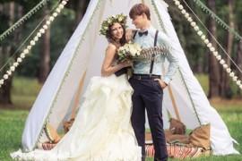 Бохо-шик: организуем свадьбу со вкусом