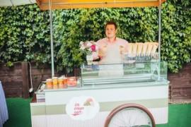 Выездной бар мороженого на праздники