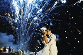 Свадебный фейерверк: Вверх!